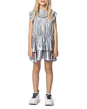 Zadig & Voltaire - Girls' Freja Metallic Dress - Little Kid, Big Kid