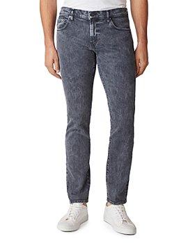 J Brand - Tyler Slim Fit Jeans in Black Moon