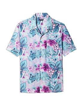 Vilebrequin - Porto Rico Charli Short Sleeve Bowling Shirt - 100% Exclusive