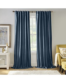 Elrene Home Fashions - Carnaby Distressed Velvet Window Curtains