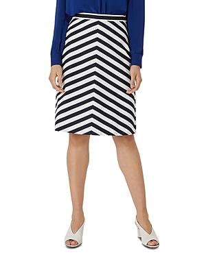 Talisa Striped A Line Skirt