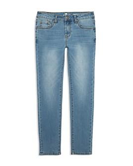 7 For All Mankind - Boys' Paxtyn Straight Leg Stretch Denim Jeans - Big Kid
