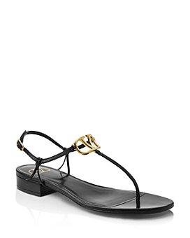Valentino Garavani - Women's V Logo Thong Sandals