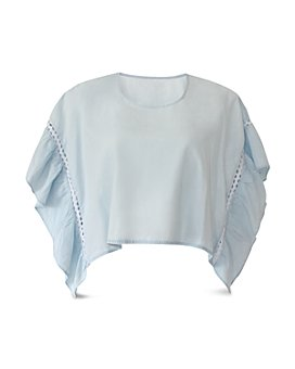 BCBGeneration - Ruffled Boxy Top