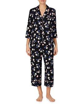 kate spade new york - Floral Print Capri Pajama Set