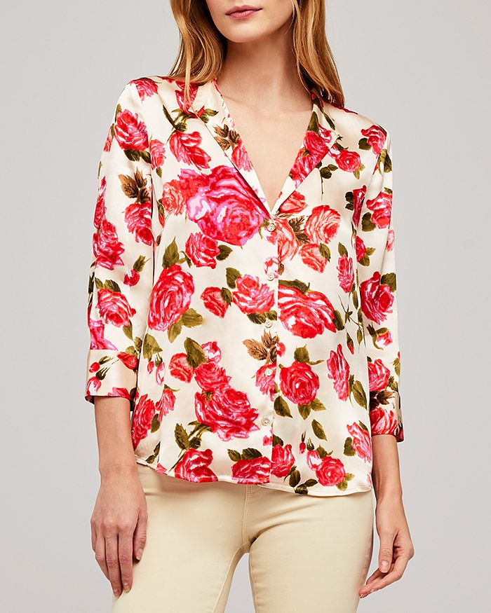 L'AGENCE - Aoki Floral Blouse