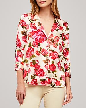 L\\\'Agence Aoki Floral Blouse-Women
