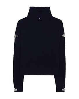 CHRISTOPHER KANE - Studded Roll Neck Sweater
