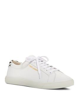 Saint Laurent - Women's Andy Low-Top Sneakers