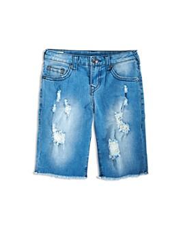 True Religion - Boys' Geno Relaxed Straight Knit Shorts - Little Kid, Big Kid