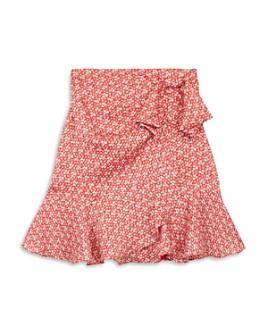 The Kooples - Spring Liberty Floral Print Flounce Skirt