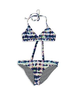 Splendid Girls\\\' Going Coastal Reversible Two Piece Swimsuit - Little Kid, Big Kid-Kids
