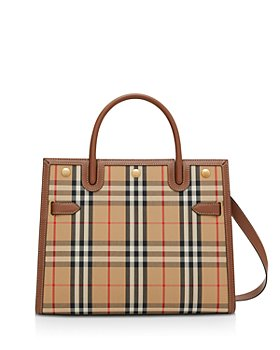 Burberry - Mini Vintage Check Two Handle Title Bag