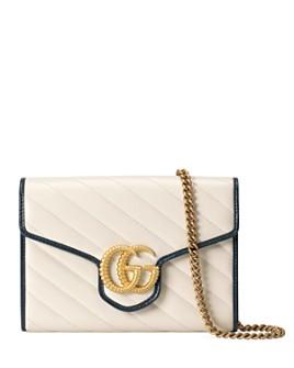 Gucci - GG Marmont Matelassé Leather Mini Chain Bag