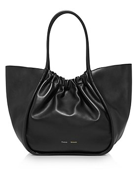 Proenza Schouler - Extra Large Ruched Leather Tote