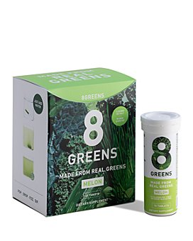 8Greens - Effervescent Tablets - Melon, Pack of 6