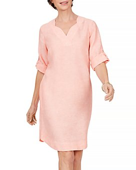 Foxcroft - Harmony Non Iron Linen Dress