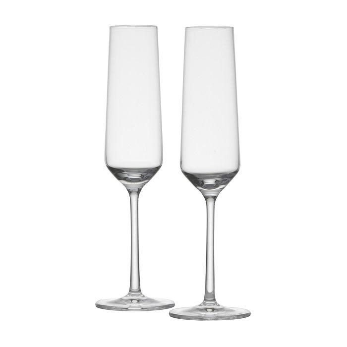 Schott Zwiesel - Tritan Pure Champagne Flute, Set of 2