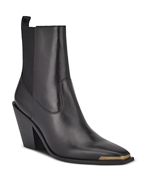 Sigerson Morrison WOMEN'S FAITH POINTED TOE HIGH HEEL BOOTIES