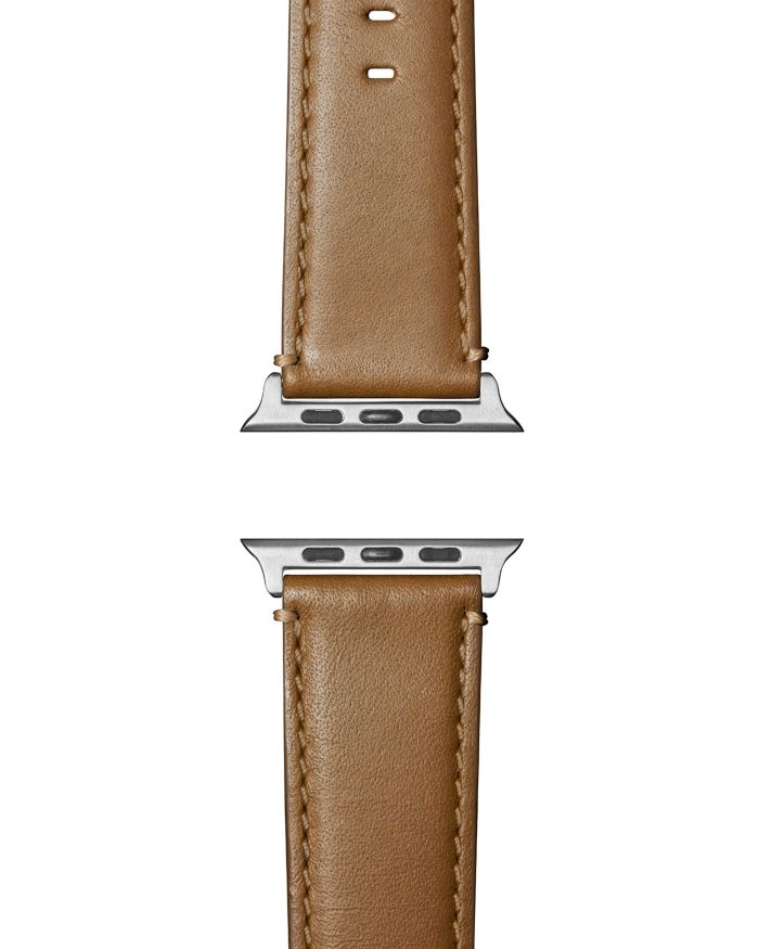 Shinola Aniline Leather Strap for Apple Watch®, 24mm    Bloomingdale's