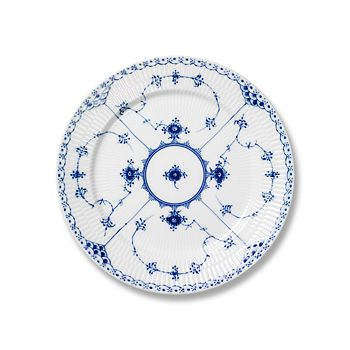 "Royal Copenhagen - ""Blue Fluted Half Lace"" Salad Plate"