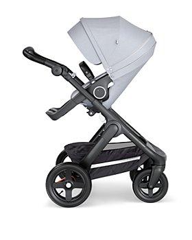 Stokke - Trailz™ Black Stroller Chassis with Black Handle