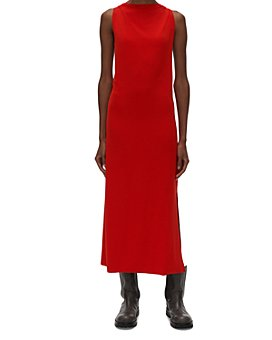 Helmut Lang - Twisted Back Midi Dress