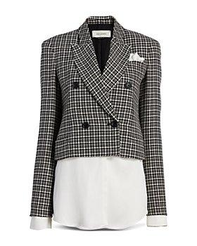 Hellessy - Mayfair Plaid Blazer Top