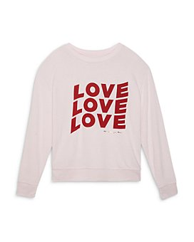 Spiritual Gangster -  Girls' Love Crewneck Shirt - Little Kid, Big Kid