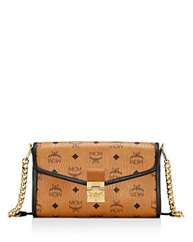 MCM - Millie Visetos Medium Leather Crossbody