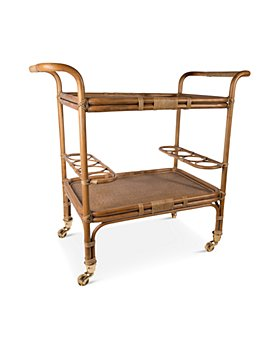 Sika Design - Carlo Rattan Bar Cart