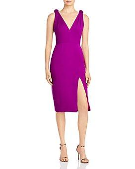 Jay Godfrey - Violet Side Slit Sheath Dress