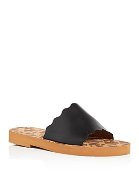 See by Chloé - Women's Essie Scalloped Slide Sandals