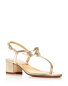 Alexandre Birman - Women's Clarita T-Strap Block Heel Sandals