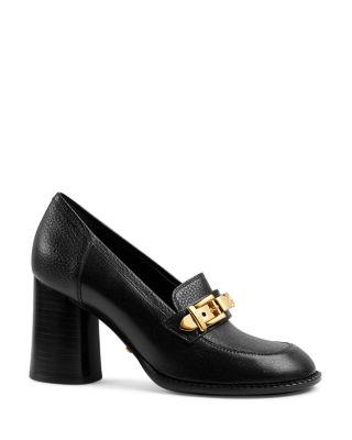 Sylvie Chain Mid Heel Loafers