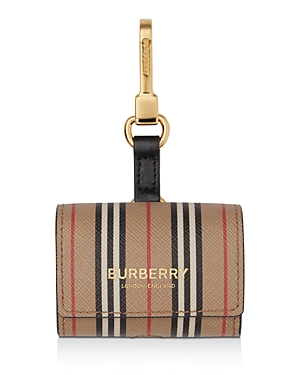 Burberry AIRPODS PRO E-CANVAS CLIP CASE