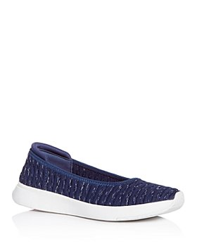 FitFlop - Women's Textured Knit Ballet Flats