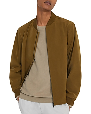 Theory City Water-Resistant Slim Fit Bomber Jacket-Men