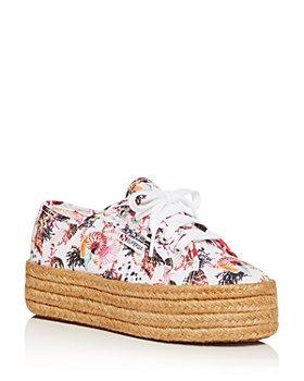 Mary Katrantzou - Women's Platform Espadrille Sneakers