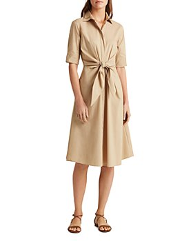 Ralph Lauren - Tie Front Shirt Dress