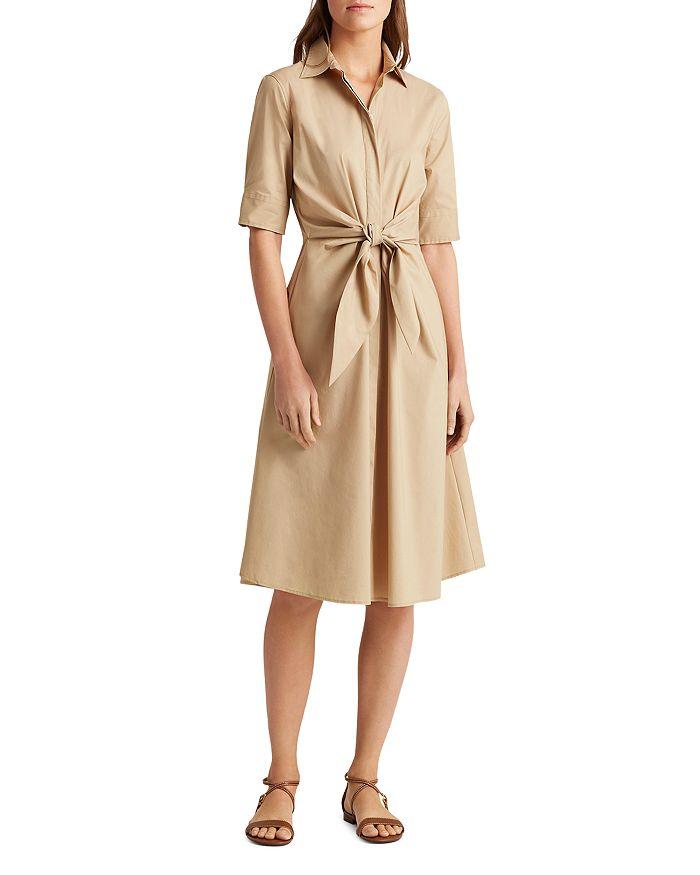 Ralph Lauren - Tie Front Shirt Dress