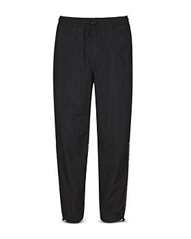 Versace Jeans Couture - Track Pants With Leopard Print Insert
