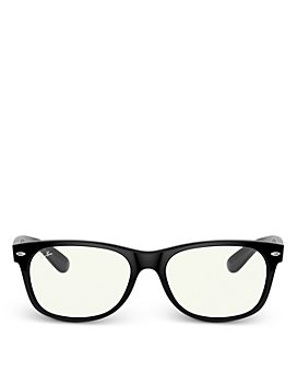 Ray-Ban - Unisex Square Blue Light Glasses, 54mm