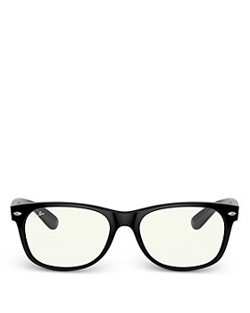 Ray-Ban - Unisex Square Blue Light Glasses, 54mm