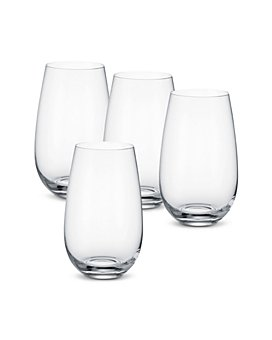 Villeroy & Boch - Entree Water Tumbler/Cocktail Glasses, Set of 4