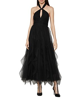 BCBGMAXAZRIA - Tulle Halter Dress