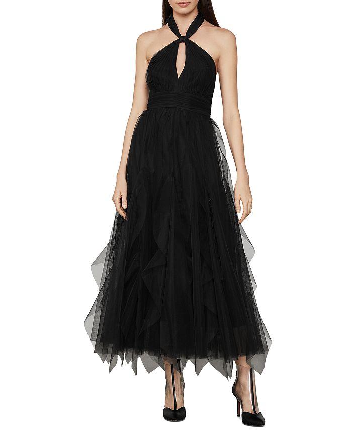 BCBGMAXAZRIA - Tulle Halter Dress