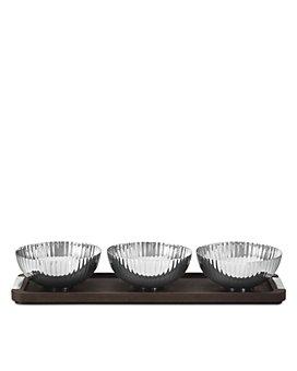 Georg Jensen - BERNADOTTE Tray with Three Bowls