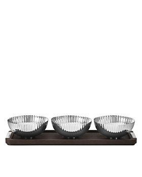 Georg Jensen - BERNADOTTE Tray with Three Bowls