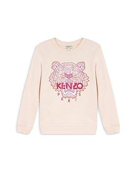 Kenzo - Girls' Cotton Tiger Sweatshirt - Little Kid